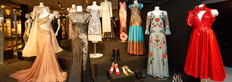 The Costume Gallery has opened after Restoration and Curatorial Work