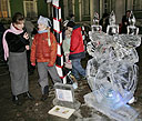 Family Ice Sculpture Competition - The Snow Queen's Realm in the Winter Palac and Ice Sculpture Marathon - Christmas Symphony