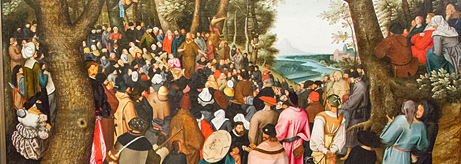"Opening of the exhibition ""Pieter Brueghel the Younger. The Preaching of St John the Baptist"""