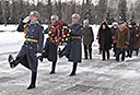A Delegation from the Hermitage Visited the Piskaryovskoye Memorial Cemetery