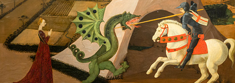 "Opening of the exhibition ""Paolo Uccello. St George and the Dragon. From the Musée Jacquemart-André, Paris"""
