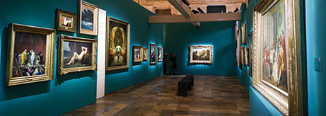 "Opening Of An Exhibition In Turin ""From Classicism To Impressionism. Three Centuries Of French Painting In The Hermitage"""