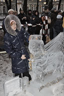 The Hermitage Gran Prix on Ice Sculpture