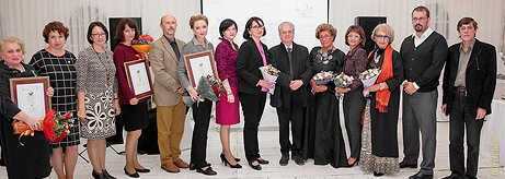 Presentation of the Iskuskny Glagol Prize in memory of Vladimir Matveyev in Vladivostok