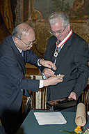 Order of the Rising Sun, Gold and Silver Stars Presented to Director of the State Hermitage Mikhail Piotrovsky