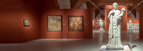 "Opening of the exhibition ""'Gods, Men, Heroes'. From the Museo Nazionale Archeologico, Naples and the Parco Archeologico di Pompei"""