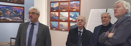 Meeting of the permanent commission on the preservation of the legacy of the Roerich family