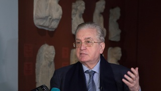 Mikhail Piotrovsky's Briefing on the Reconstruction of Palmyra