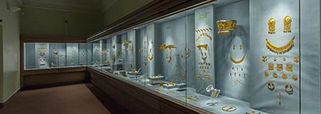 The Gold Rooms and Gems of the Archaeological Collection