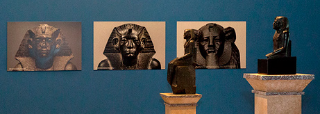 "Opening of the exhibition ""Two Amenemhats. Marking the 160th anniversary of the birth of Vladimir Golenishchev"""