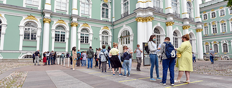 Mikhail Piotrovsky on the results of the second week of reopening at the Hermitage