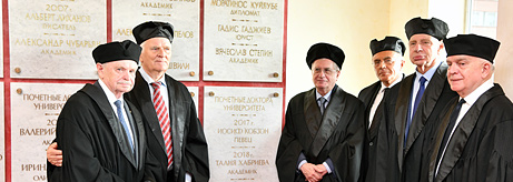 Mikhail Piotrovsky becomes the 40th Honorary Doctor