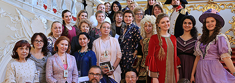 International Tourist Guide Day in the State Hermitage