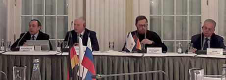 Meeting of members of the Petersburg Dialogue Co-ordinating Committees and heads of working groups
