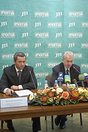 The presentation of the next stage of cooperation between the State Hermitage Museum and the JTI Company
